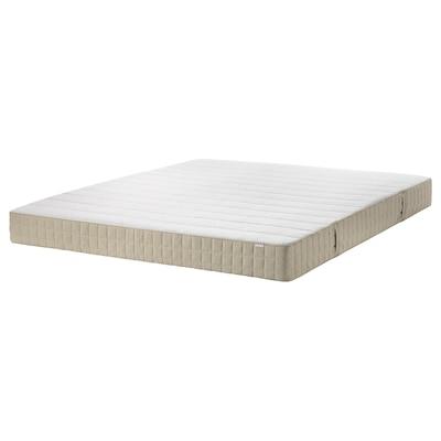 MAUSUND Colchón de látex natural, Firmeza media natural, 160x200 cm