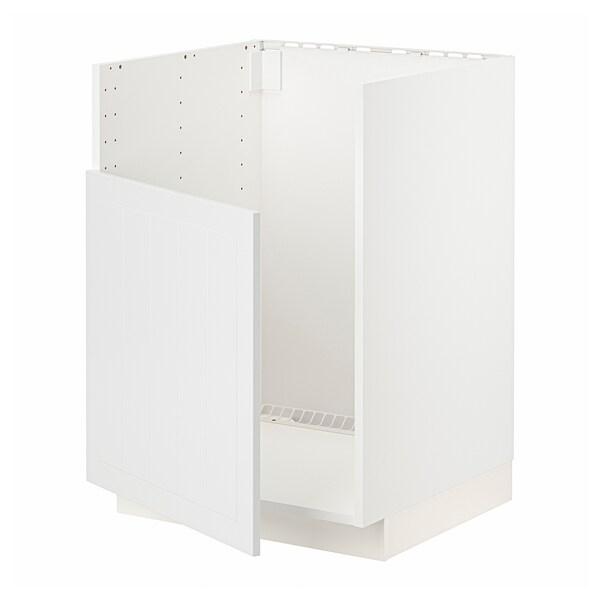 METOD AbjfregBREDSJÖN, branco/Stensund branco, 60x60 cm
