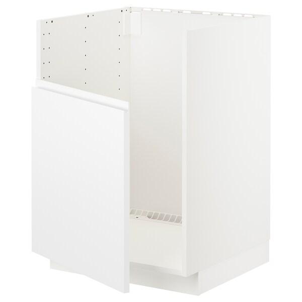METOD AbjfregBREDSJÖN, branco/Voxtorp branco mate, 60x60 cm