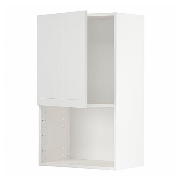 METOD Armario de parede para microondas, branco/Stensund branco, 60x100 cm