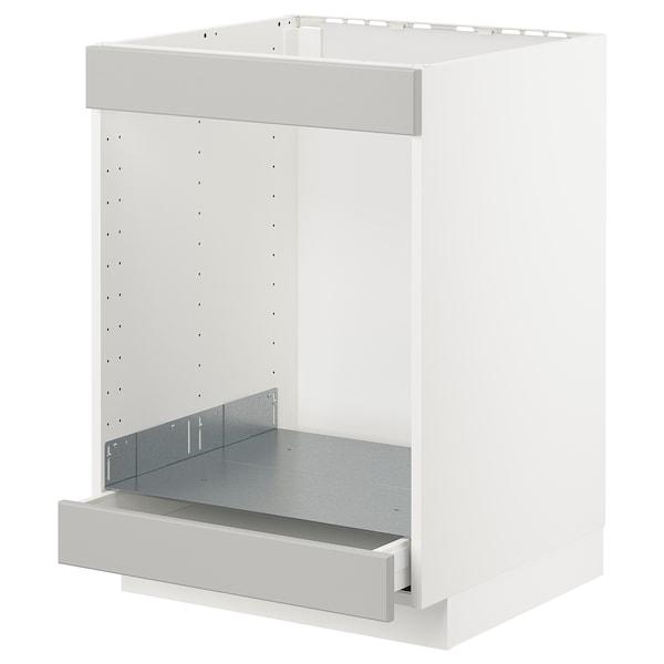 METOD / MAXIMERA Armario baixo para placa e forno