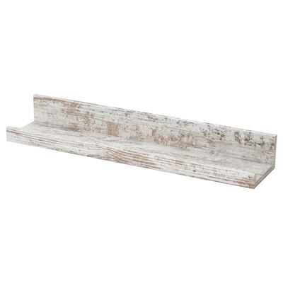 MOSSLANDA Estante para cadros, branco efecto piñeiro tinguido, 55 cm