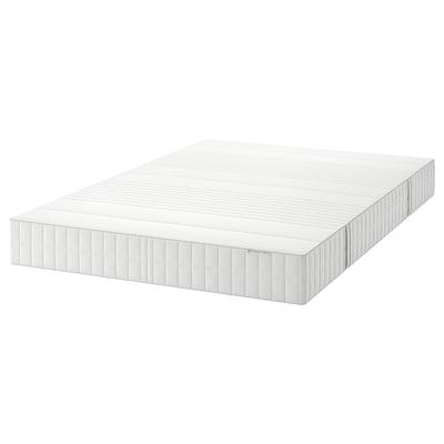 MYRBACKA Colchón viscoelástico, firme/branco, 135x190 cm