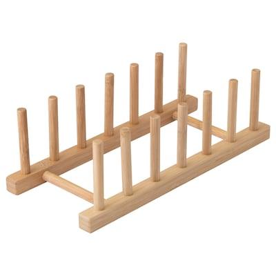 OSTBIT Portapratos, bambú