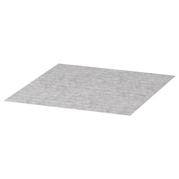 PASSARP Alfombra para caixón, gris, 50x48 cm