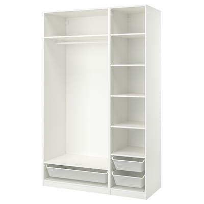 PAX Combinación armario, branco, 150x58x236 cm