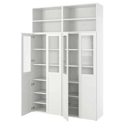 PLATSA Combinación de armario e estante, 160x42x241 cm