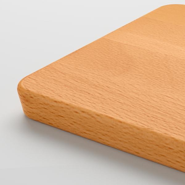 PROPPMÄTT Táboa de cortar, faia, 30x15 cm