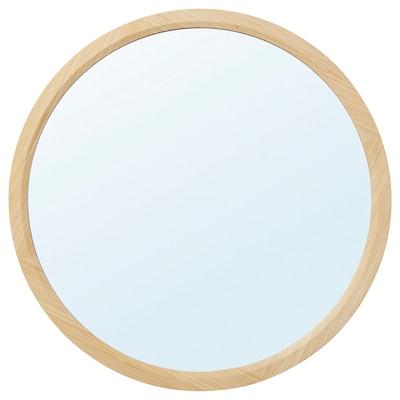 RÅGRUND Espello, redondo/bambú, 60 cm