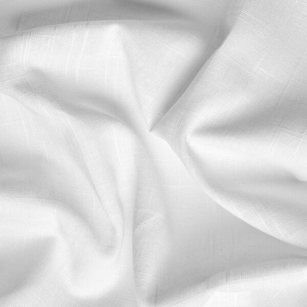 SILVERLÖNN Cortina, par, branco, 145x300 cm