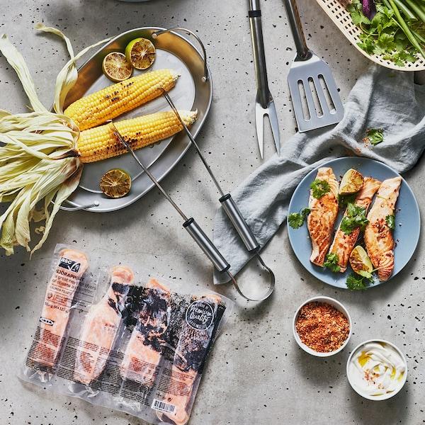 SJÖRAPPORT Filete salmón, certificado ASC/conxelado