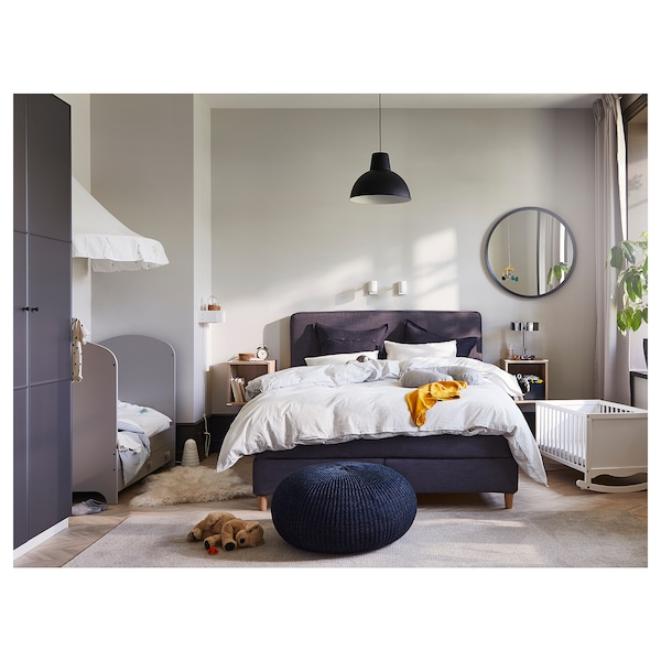 SKURUP Lámpada de teito, negro, 38 cm