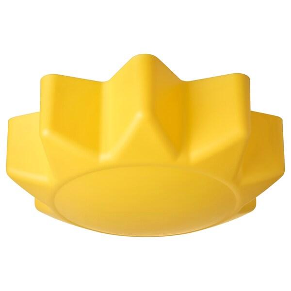 SOLHEM Lámpada de teito, amarelo sol