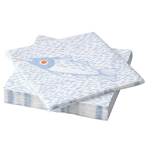 SOMMARDRÖM Pano de mesa de papel, 33x33 cm