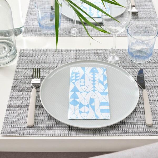 SOMMARDRÖM Pano de mesa de papel, 38x38 cm