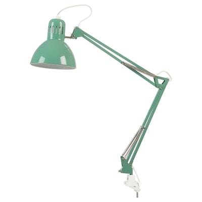 TERTIAL Lámpada flexo de traballo, verde claro