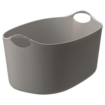 TORKIS Cesto coada flexible int/ext, gris, 35 l
