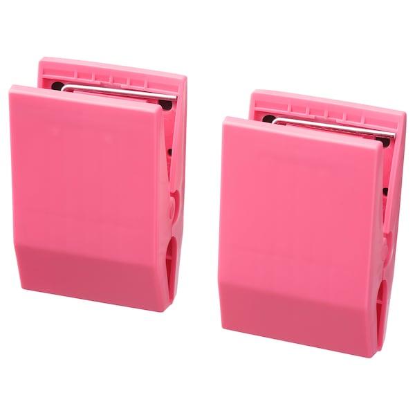 TOTEBO Pinza para documentos con imán, rosa