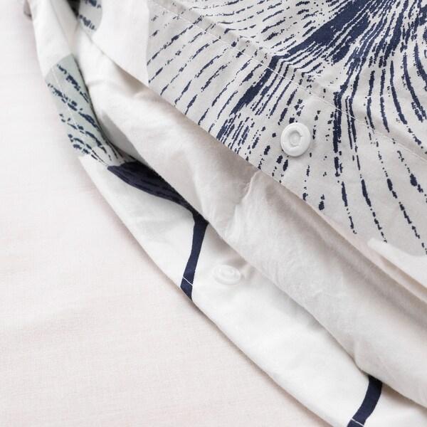 TOVSIPPA, branco, 240x220/50x60 cm
