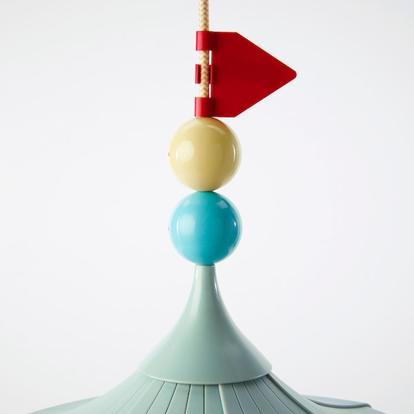 TROLLBO Lámpada de teito, verde claro