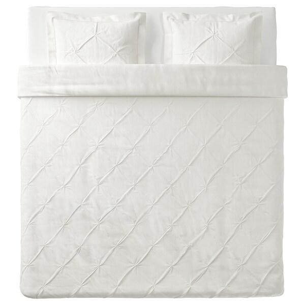 TRUBBTÅG, branco, 240x220/50x60 cm