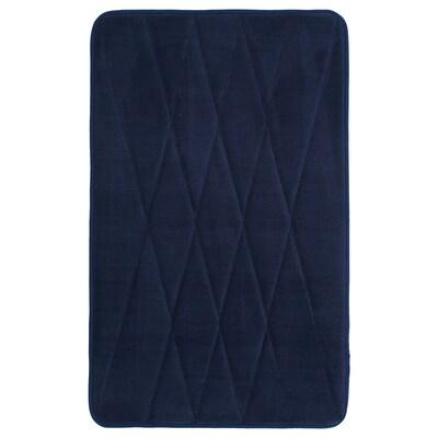 UPPVAN Alfombra de baño, azul escuro, 50x80 cm