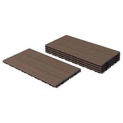 UTLÄNGAN Chan exterior / chan terraza, marrón, 0.90 m²