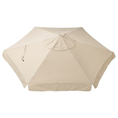 VÅRHOLMEN Tea parasol, beixe, 300 cm