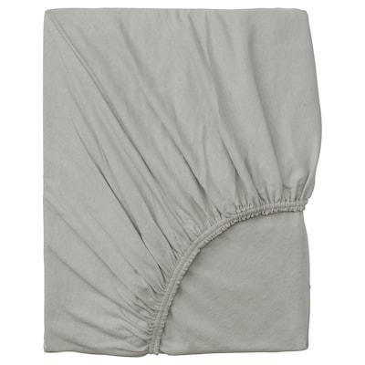 VÅRVIAL Saba baixeira axustable, gris claro, 90x200 cm