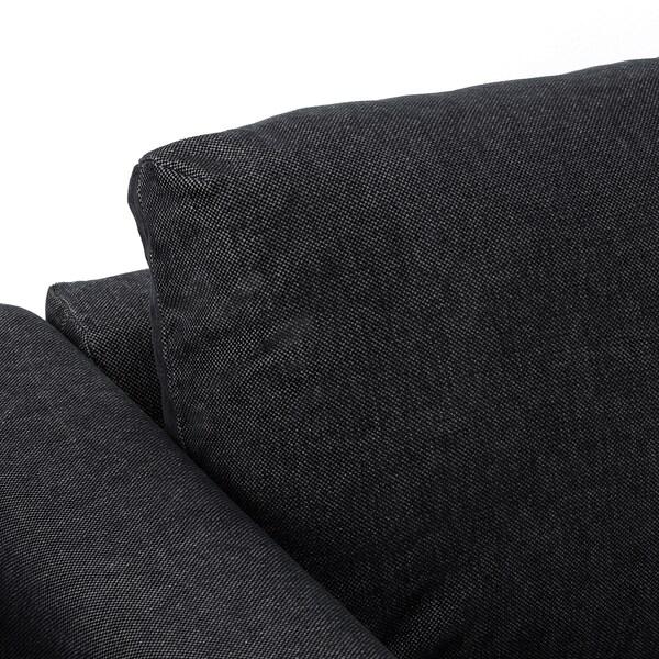 VIMLE Sofá cama 3 prazas, Tallmyra negro-gris