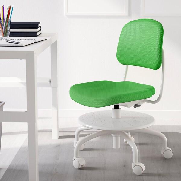 VIMUND Cadeira escritorio neno, verde vivo