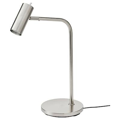 VIRRMO Lámpada flexo de traballo, niquelado, 54 cm