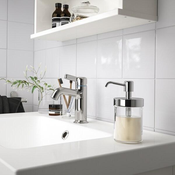 VOXNAN Dispensador xabón, efecto cromado