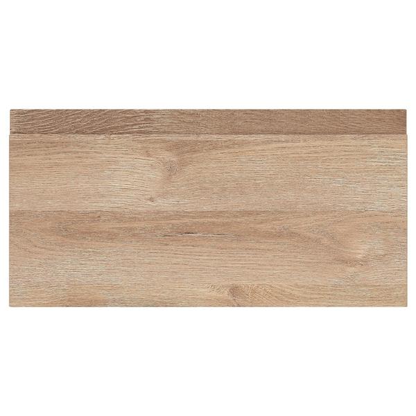 VOXTORP Fronte de caixón, efecto carballo, 40x20 cm