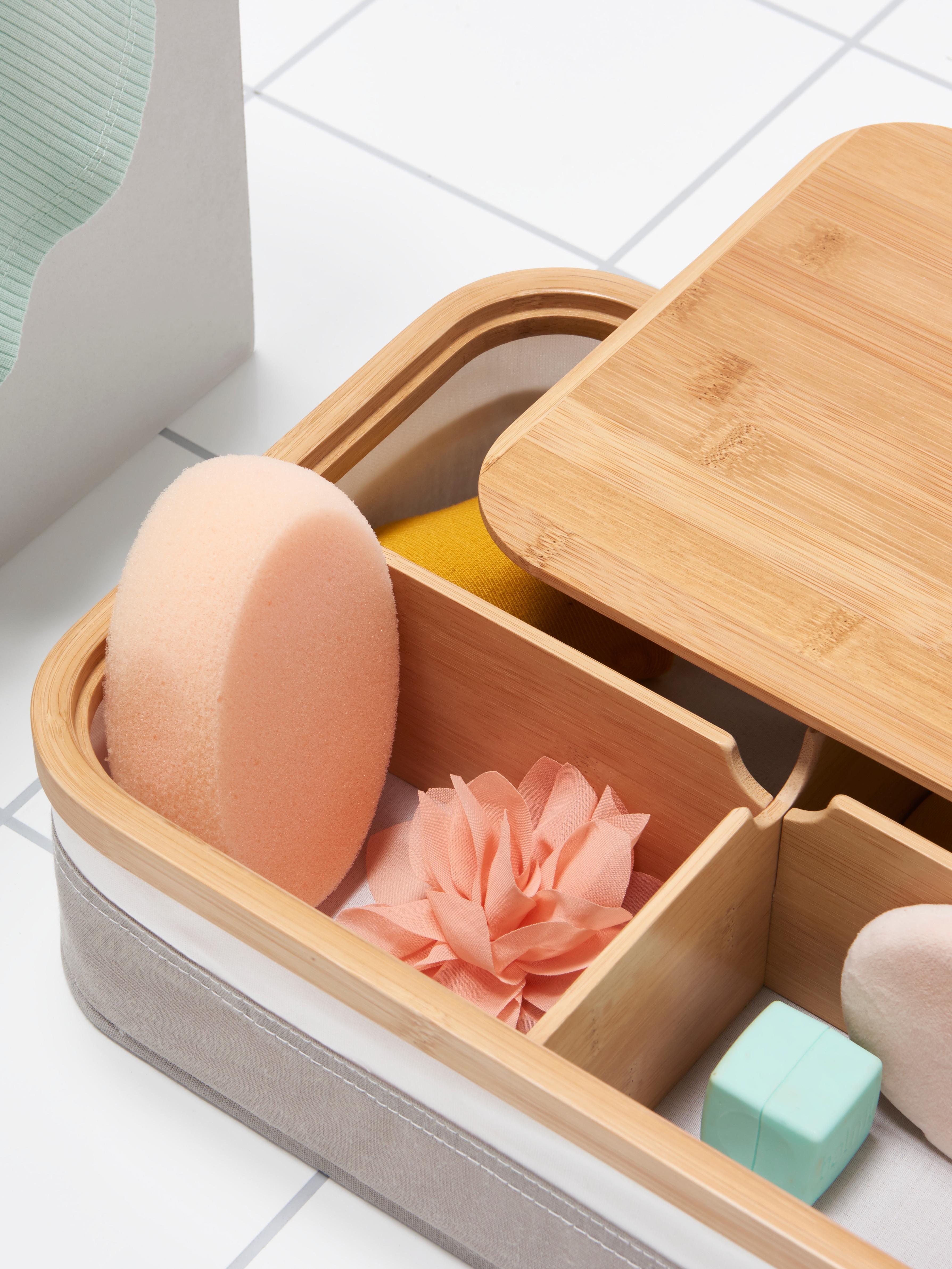 boîte-à-compartiments-RABBLA-tissu-couvercle-bambou