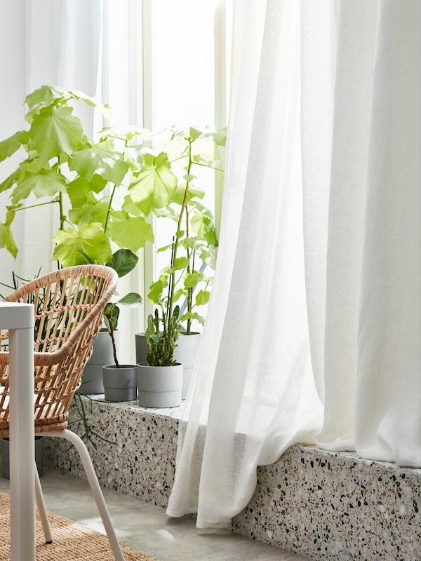 NYPON Plant pot, indoor/outdoor gray