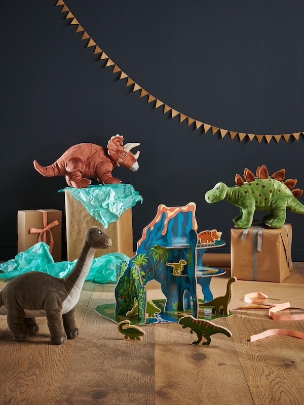 JÄTTELIK dinosaurleker.