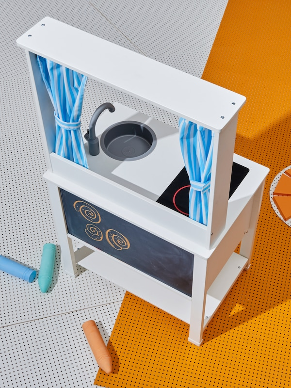 SPISIG Cucina gioco con tende - IKEA