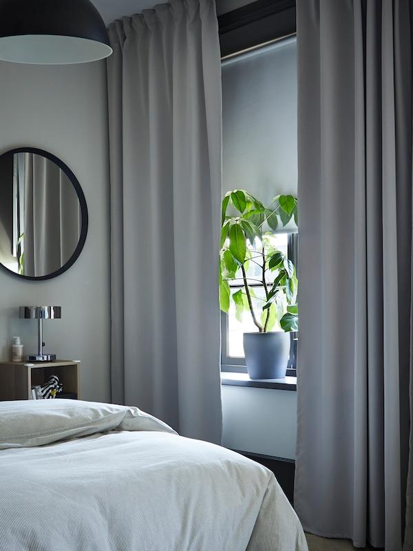 MAJGULL room darkening curtains