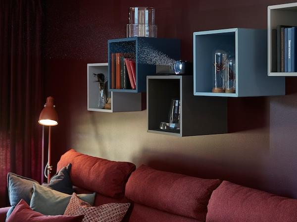 Seri di scaffali da parete EKET - IKEA