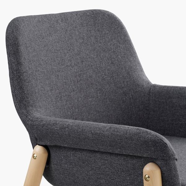 scandinavisch interieur moderne fauteuil vedbo