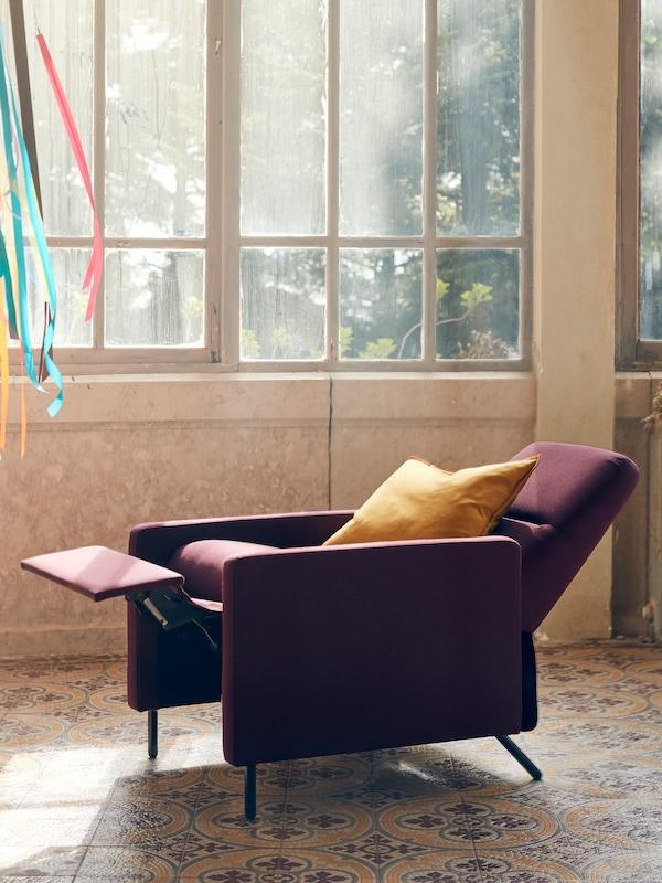 GISTAD-nojatuolin asentoa voi säätää mieleiseksi