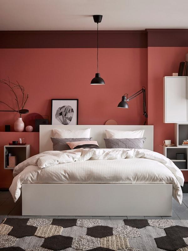 SLATTUM bed frame