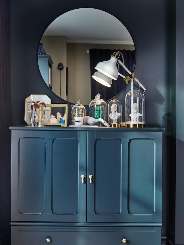 Зеркало ЛИНДБЮН в интерьере