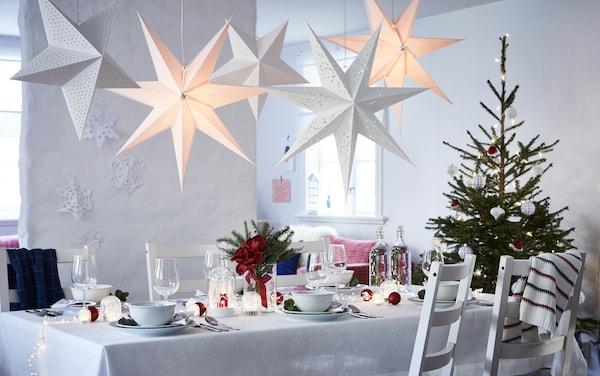 Weihnachtsbeleuchtung innen: Lichterketten & Dekobeleuchtung