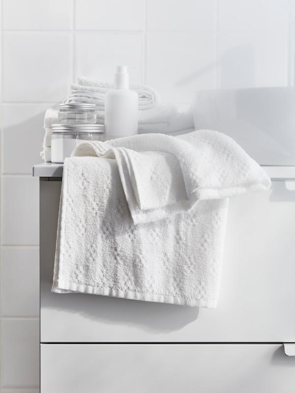 Asciugamano bianco