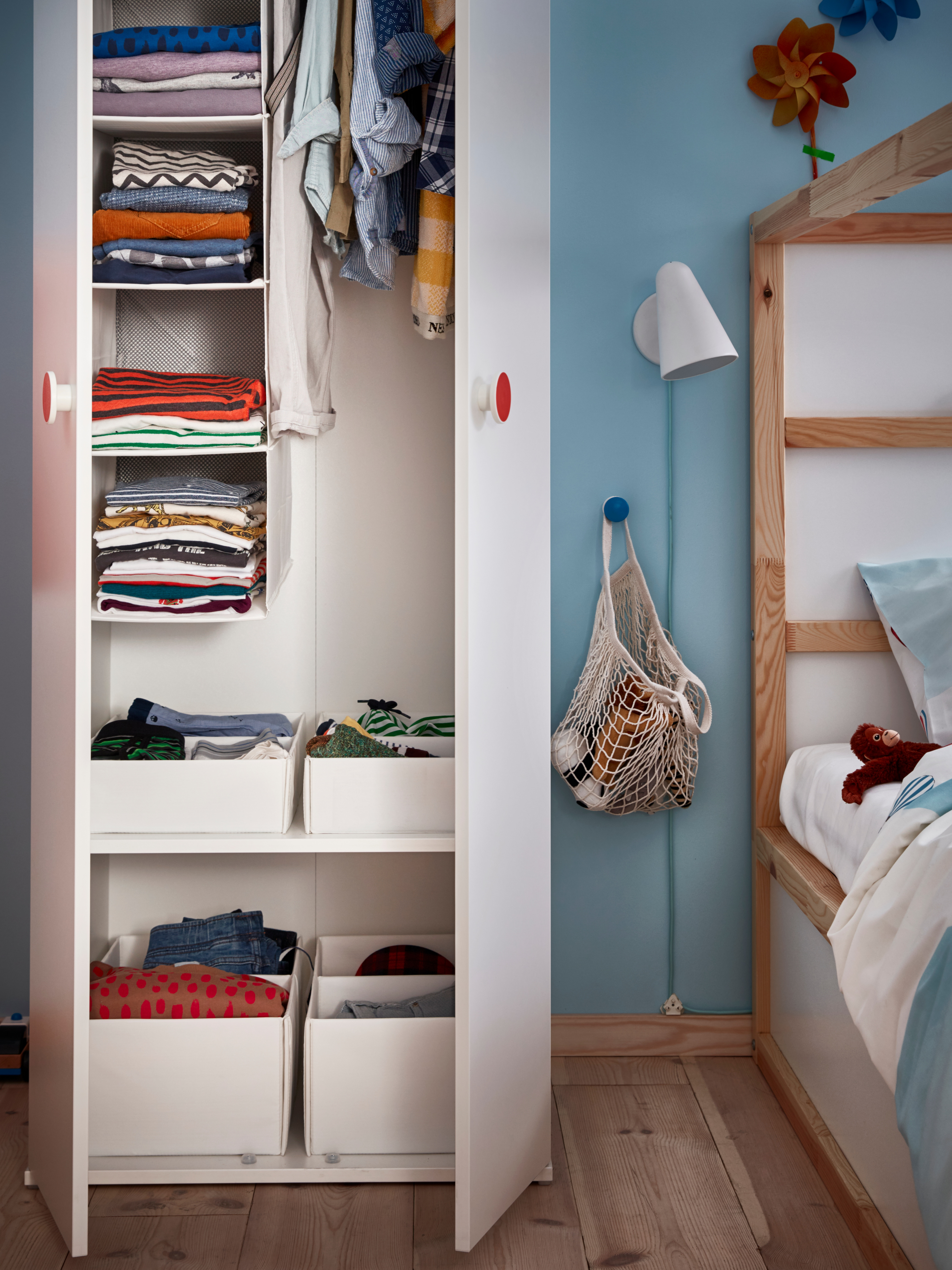 A low cost solution for instant storage - IKEA