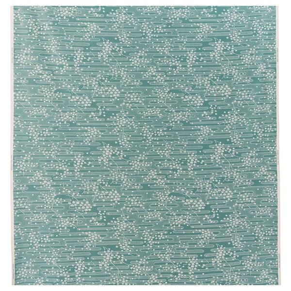 ÄNGSMOTT Kangas, harmaanturkoosi/valkoinen, 150 cm