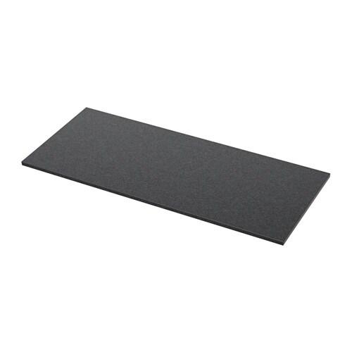 ALDERN Pöytätaso  musta kivikuvio  IKEA