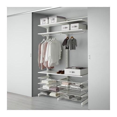 ALGOT Pylväs jalka ritiläkorit  IKEA